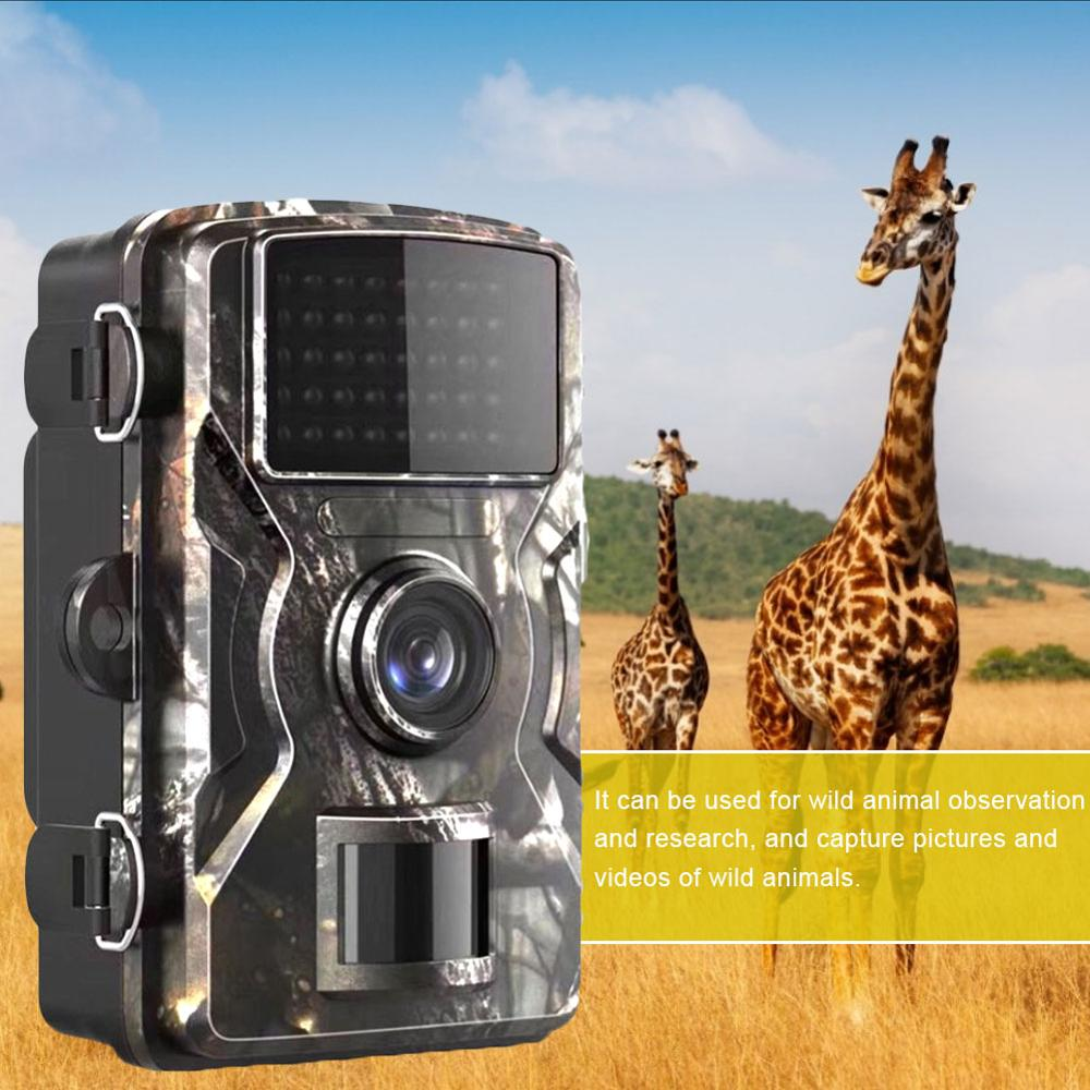 mini trail game camera night vision 1080p 12mp waterproof hunting camera outdoor wild photo traps with ir leds range up to 65ft 12MP 1080P Night Vision Trail Game Mini Waterproof Wildlife Camera PIR Invisible Photo Traps Hunting Scouting Camera