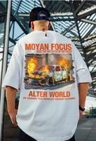 m 5xl t shirt men oversize cotton harajuku hip hop streetwear tshirt loose tops plus size mens tops t shirt tops tees