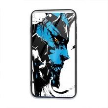 Metall Getriebe Rising Revengeance Artbook Raiden Telefon Fall Für iPhone 11 Pro X XR XS Max 8 7 6 6s Plus 5s Weiche TPU Glas Zurück Abdeckung