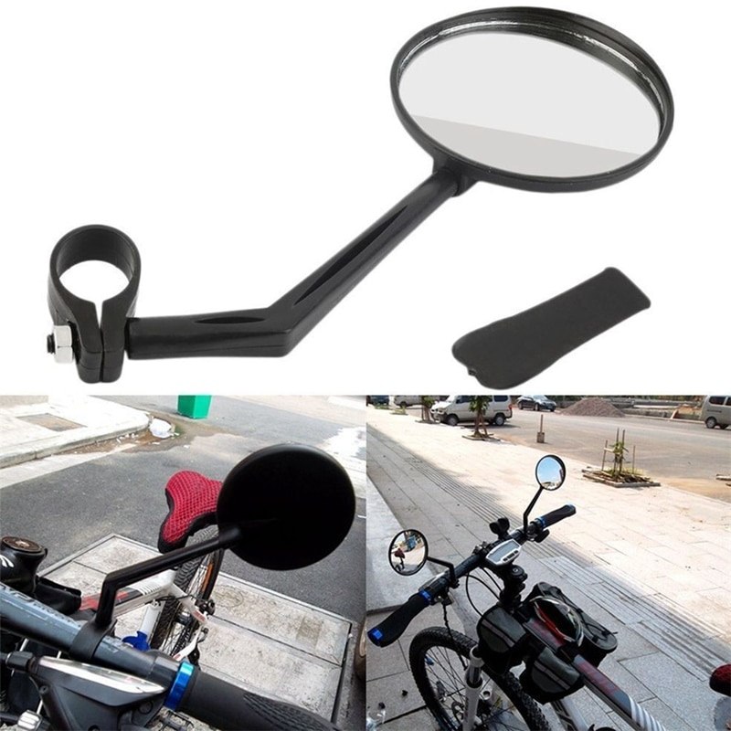 2PCS/Set Bike Mirror For Mountain Rearview Bicycle Handlebar Motocycle Cycling Convex Safety Rear Vi
