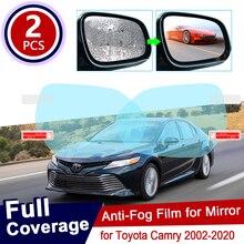 Film Anti-brouillard et rétroviseur   Couverture complète pour Toyota Camry XV30 XV40 XV50 XV70 2002 ~ 2020 30 40 50 70, accessoires 2010 2011