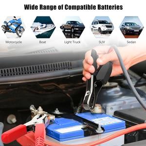 Image 5 - Профессиональный тестер аккумуляторной батареи для мотоцикла, автомобиля, 6 в, 12 В, диагностический инструмент для быстрого запуска аккумулятора 2000 CCA