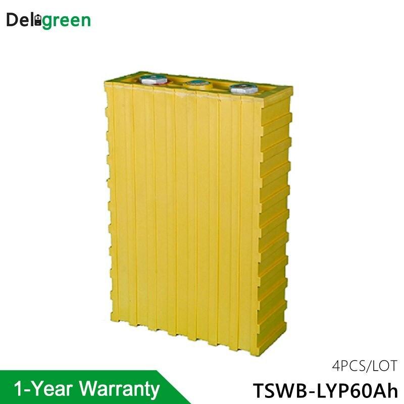 Paquete de batería de 12V y 60 Ah, móvil LiFeYPO4 para vehículo eléctrico/solar/UPS/energy storage Thunder sky