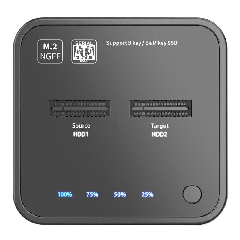 MAIWO K3016 M.2 محرك أقراص الحالة الصلبة الناسخ SATA بروتوكول نسخ قفص الاتهام حاليا نسخة على الانترنت القراءة/كتابة القرص الصلب للكمبيوتر