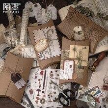 30 Teile/satz Vintage Scrapbooking Diy Aufkleber Pack Dekorative Retro Natürliche Sammlung Tagebuch Journal Washi Papier Aufkleber für Kunst