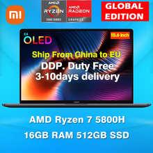 Ноутбук Xiaomi Mi Notebook Pro 15 2021 Ryzen Edition AMD Ryzen 7 5800H OLED дисплей 15,6 дюйма ноутбуки 16 Гб ОЗУ 512 ГБ SSD компьютер