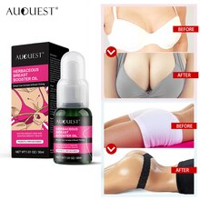 AUQUEST Breast Enhancement Essential Oil Fast Growth Elasticity Enhancer Breast Enlargement Body Oil