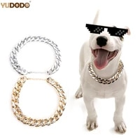 2cm collars collar french dogs necklace gold pinch chain small dog bulldog width silver snake for pet strong snake chain pinch c