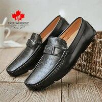 2021 Loafers Shoes Men Casual Shoes 2021 New Autumn Leather Slip-on Fashion Men's Flats Mocasins Footwear Brand Comfy Men Shoes