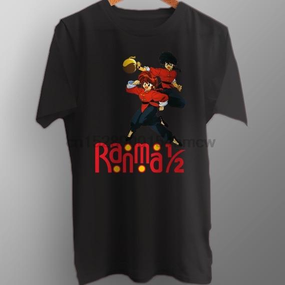 Ranma 1 2 comédie japonaise Anime nouveau T-Shirt en coton