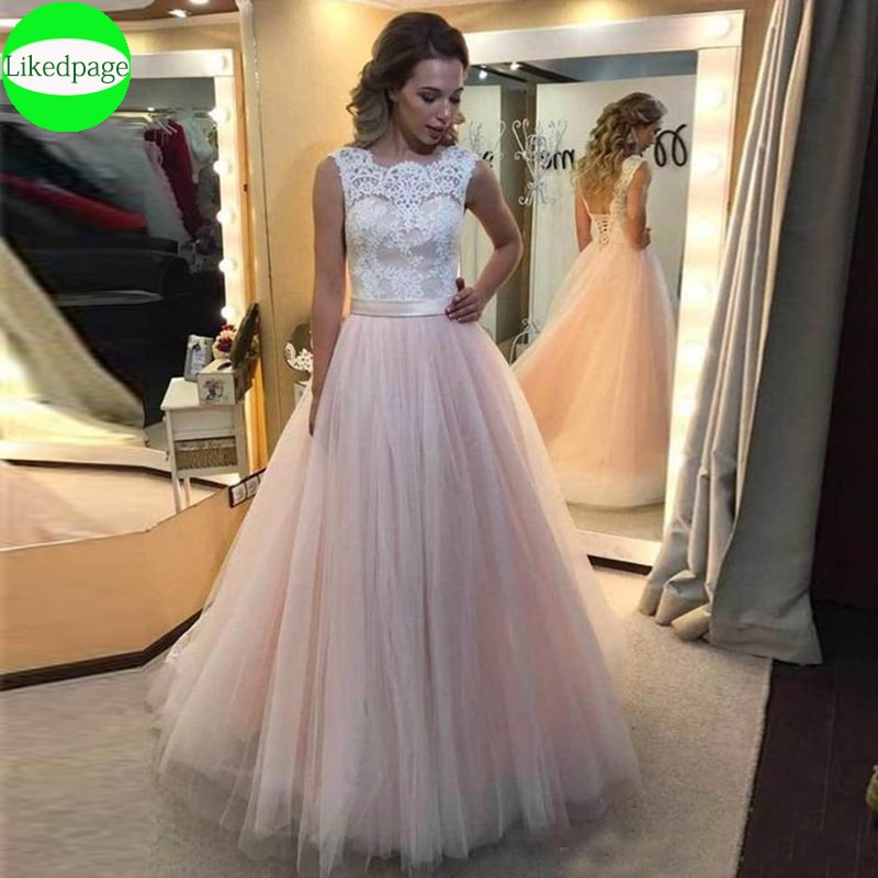 Apliques De encaje elegantes para vestidos De Novia, vestidos De corsé De...