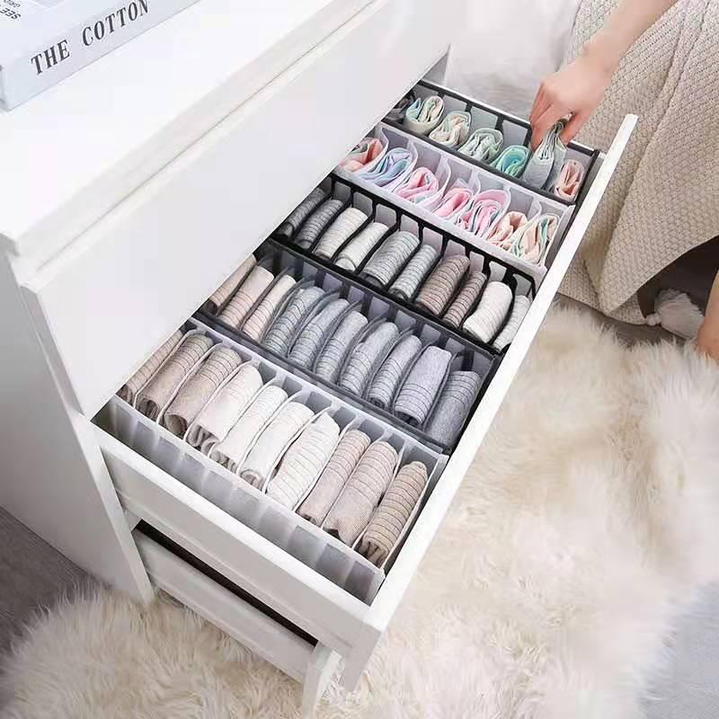 Underwear Bra Organizer Storage Box Drawer Closet Organizers Divider Boxes For Underwear Scarves Socks Bra