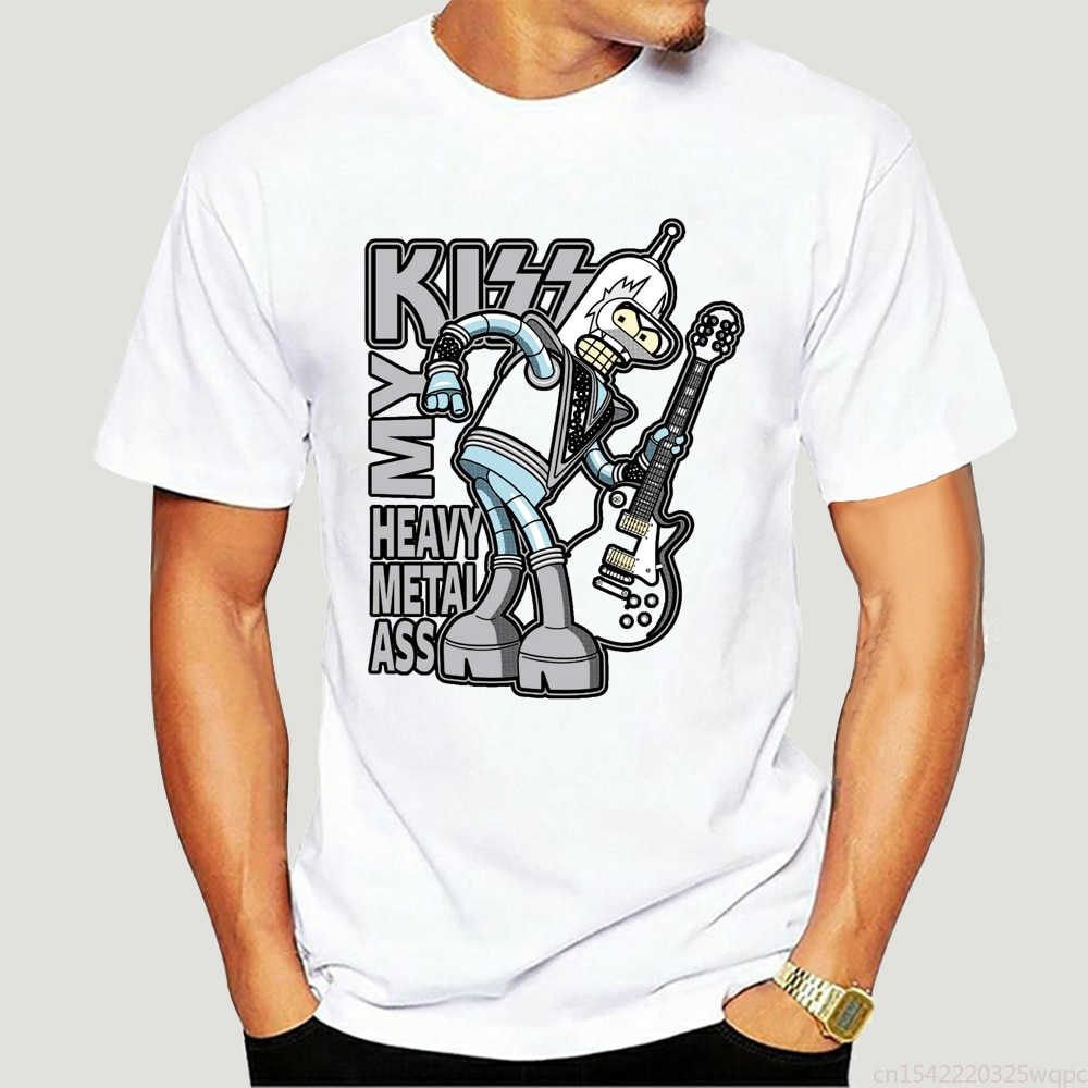 Beso mi Ace-parodia divertida... ropa de calle y doblador Simple de Metal...