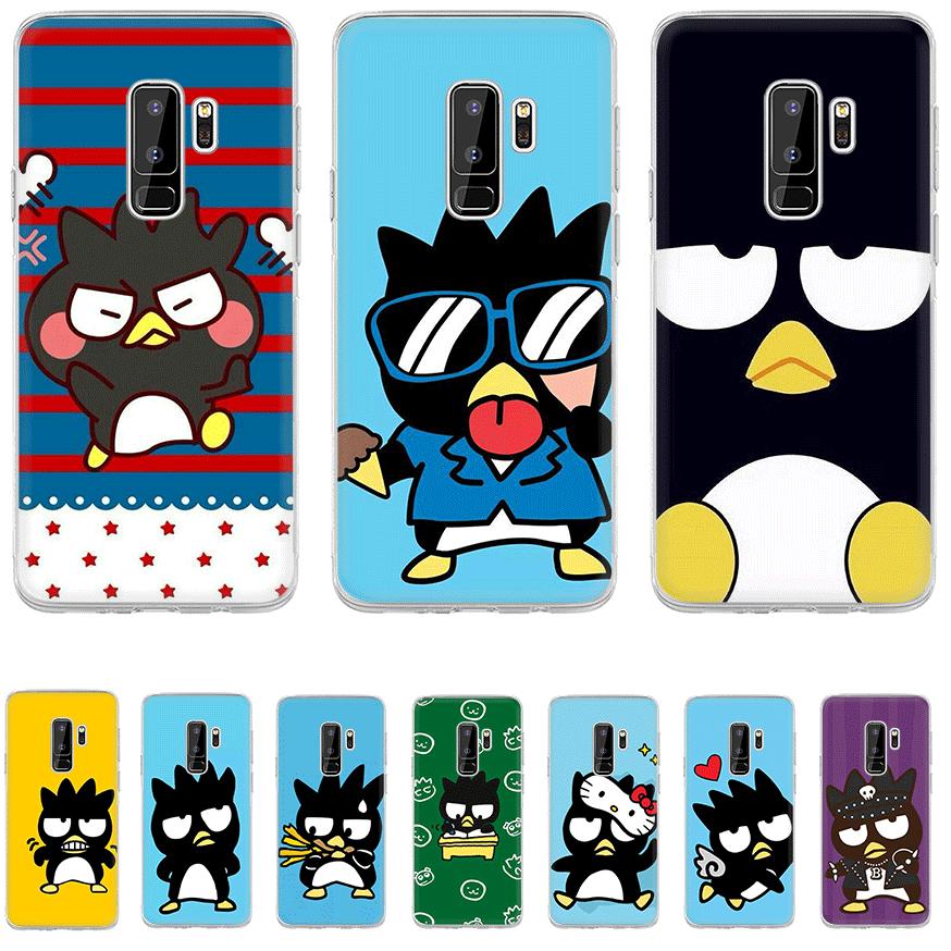 Phone Case TPU For Samsung Galaxy S6 S7 Edge S8 S9 S10 S10E Plus Note 8 9 M10 M20 M30 M40 Cover Bad Badtz Maru