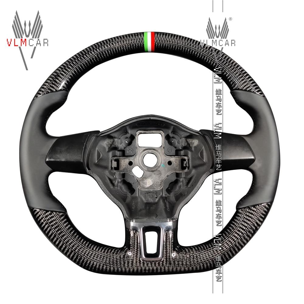Private custom carbon fiber lenkrad für volkswagen golf6/mk6