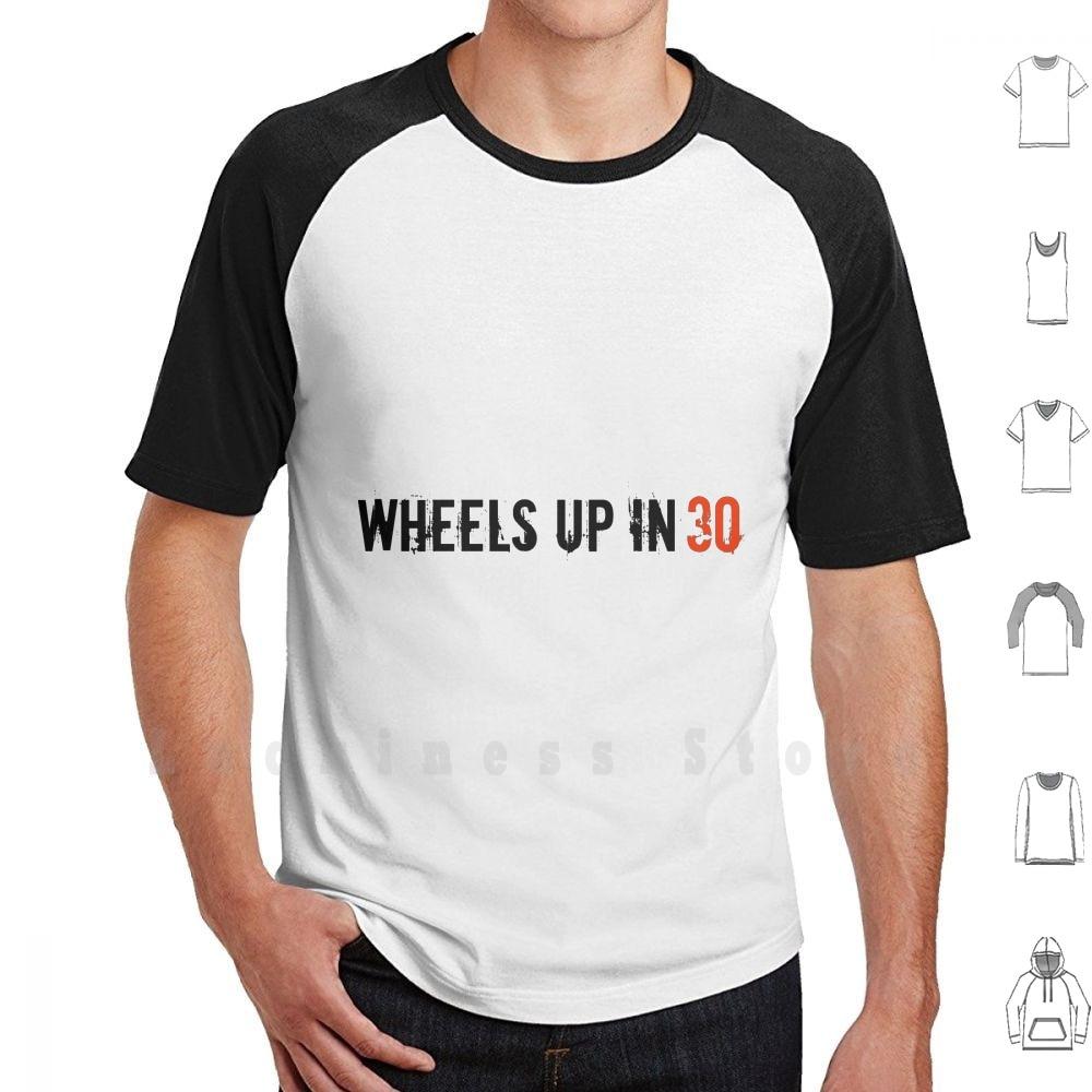Camiseta de algodón con ruedas en 30, prenda de vestir, de gran...