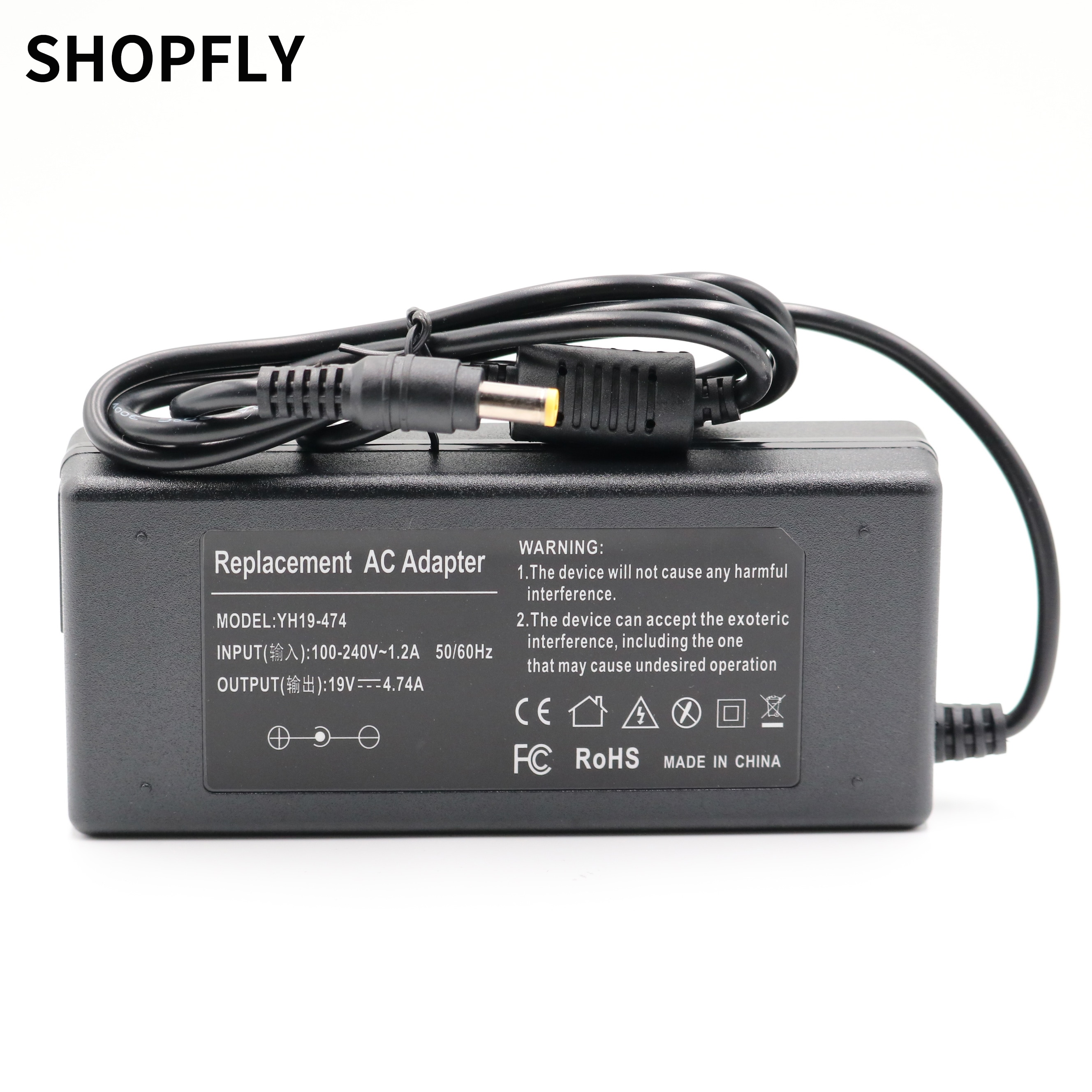 New Power Supply 19V 4.74A 90W For Acer Aspire 4710G 4720G 4730 AC Adapter Laptop Adapter Charger Fo