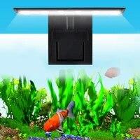 w3ja 12 led aquarium fish tank clamp clip water plant grow white color lighting eu