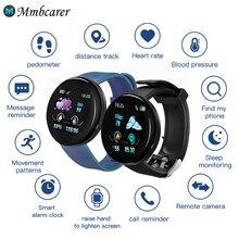D18 Smart Watch Men Women Blood Pressure Smartwatch Sport Tracker Pedometer 116 Plus Smart Watches For Android IOS A2 smartwatch