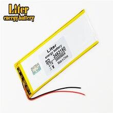 Tablette batterie tablette polymère batterie 3453150 3.7V 3000MAH Lithium tablette polymère batterie avec panneau de Protection