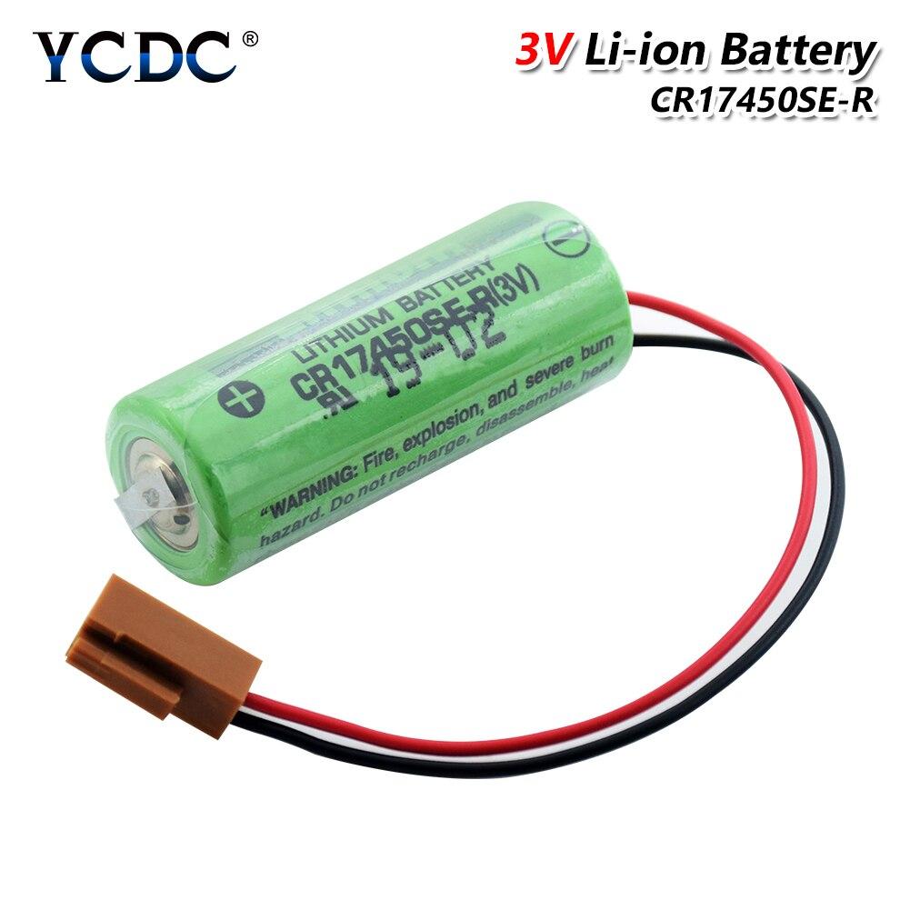 3V 2500 мА/ч, CR17450SE-R A98L-0031-0012 литий-ионный Батарея A98L-0031-0012 A02B-0200 CR17450 с резистором для Fanuc
