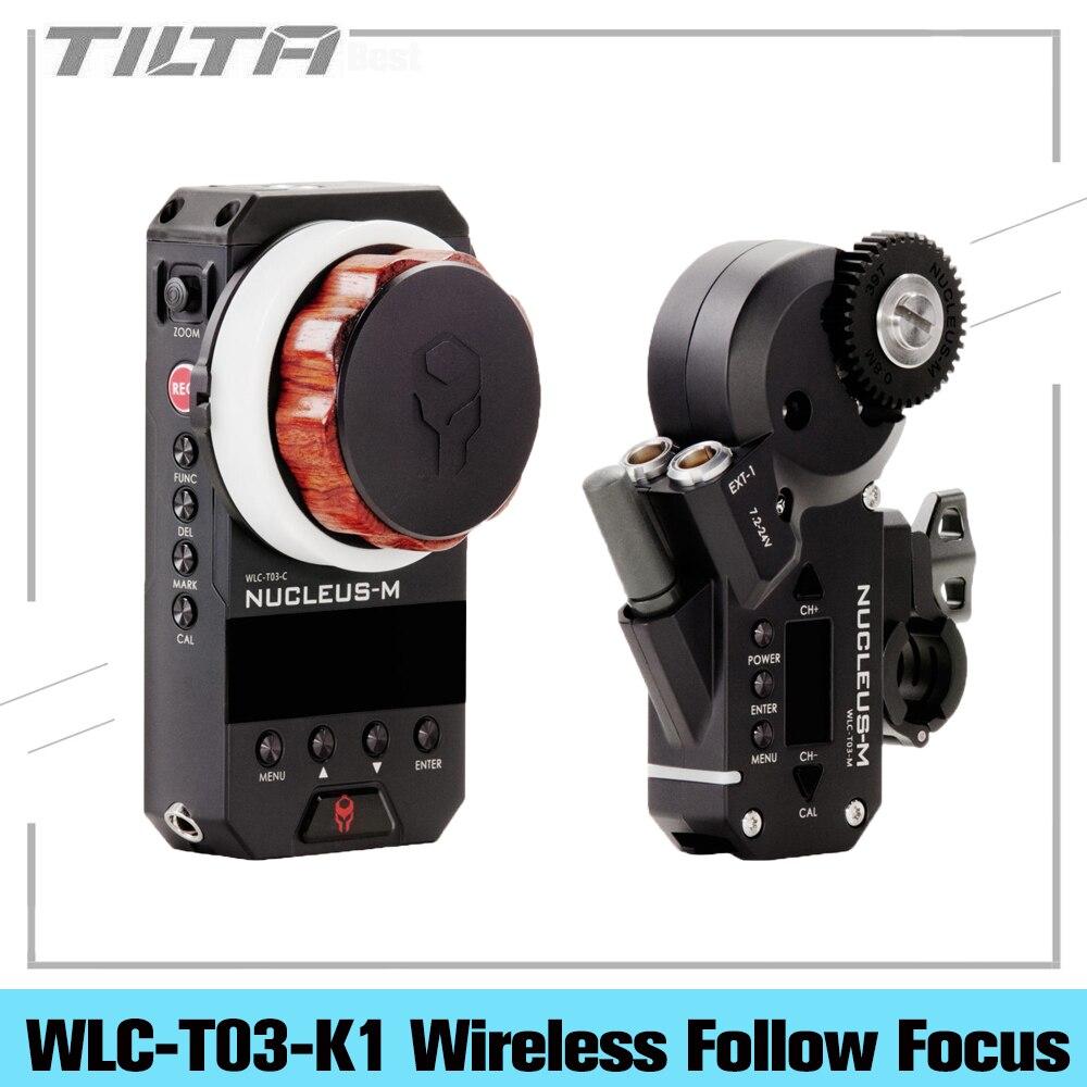 وحدة تحكم في تكبير عدسات تركيز لاسلكية من TILTA WLC-T03-K1 نواة-M محرك وحدة يدوية Fiz 350 متر لنقل الصور الجوية