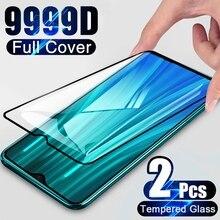 Protector de pantalla de vidrio templado para móvil, película de vidrio para Xiaomi Redmi Note 9 8 7 Pro 10 5G 7 8 9A, Xiaomi Mi 11 8 Lite 10T 9T Pro, 2 uds.