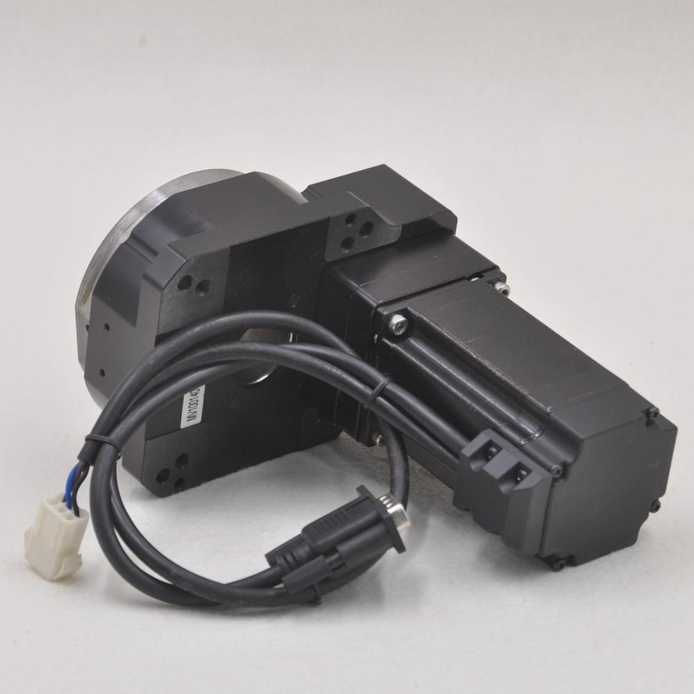 MD100-8-SV Electric 360 Degree Hollow Shaft Rotary Sliding Table CNC Rotating Platform enlarge