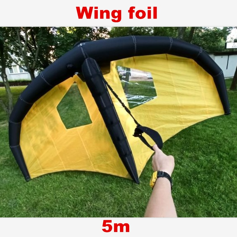 Wing Foil Kite Surfing Infflatable Wings 5M For Water Sports