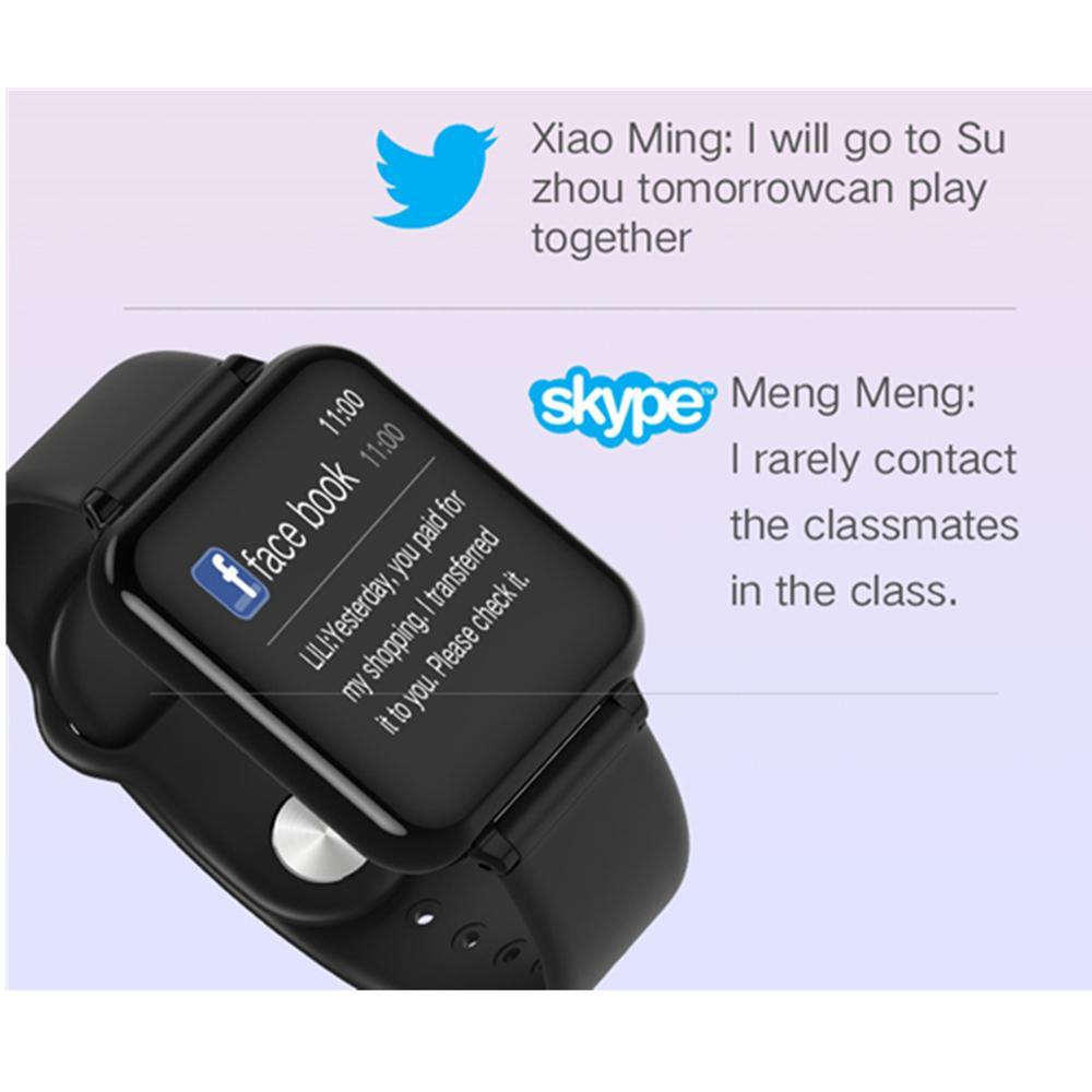 Review Wholesale Smart Watch Heart Rate monitor blood pressure multiple sport mode smartwatch women wearable men Smart Bracelet