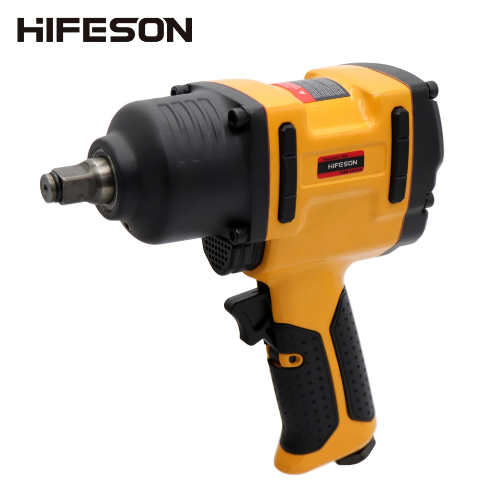 HIFESON Air Pneumatic Wrench Impact Spanner 1/2 900N.M Torque Tool for Tire Removal Nut Sleeves effort wrench tire changer energizer effort spanner for truck tire lug wrench tool labor saving wrench tyre wrench