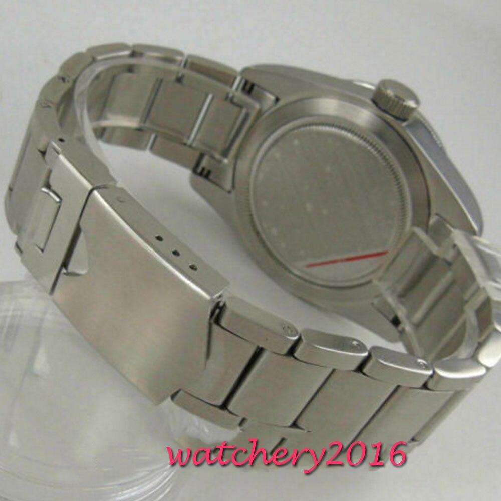 22mm 316L sólido de acero inoxidable corgeut pulsera 41mm corgeut reloj