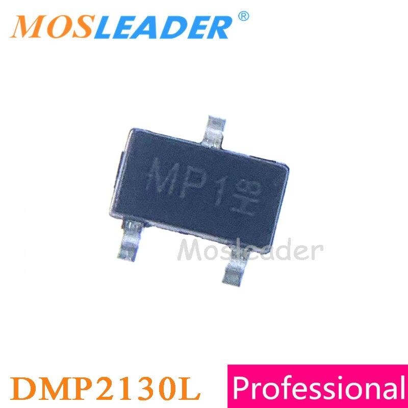 Mosleader DMP2130L-7 SOT23 500 قطعة 3000 قطعة DMP2130L DMP2130 P-قناة صنع في الصين جودة عالية