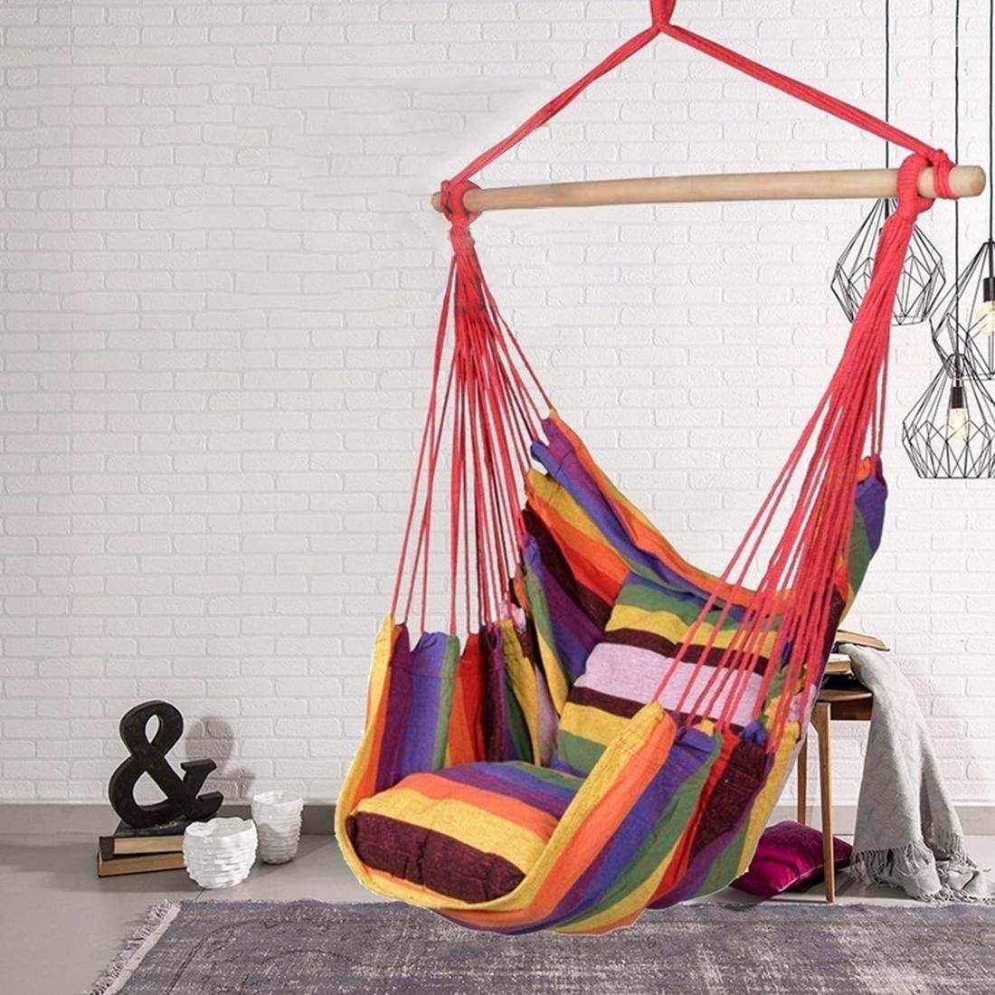 Уличный гамак, качели, садовый стул для кемпинга, уличная мебель, строп-стул, кресло-качели, кресло для ленивых, веревочное кресло