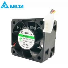 10pcs 4028 1U2U Server Fan 12V 2.8W GM1204PQV1-8A Cooling Ventilation Blower Fan