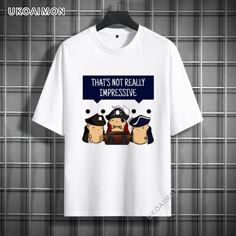 Valentine Day Well Thats Not Really Impressive Bean Comfortable Pure Cotton T Shirts Graphic High Quality T Shirt Short Sleeve