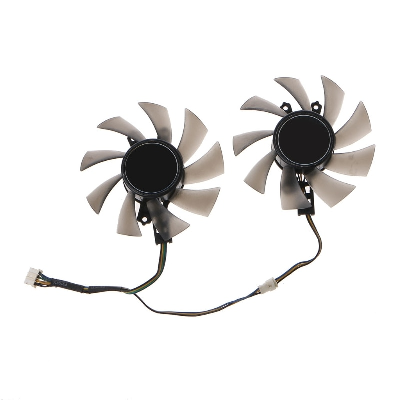 2PC GA91S2H  Graphics Card Cooling Fan VGA Cooler Fan 4Pin 12V 0.35A for Gigabyt