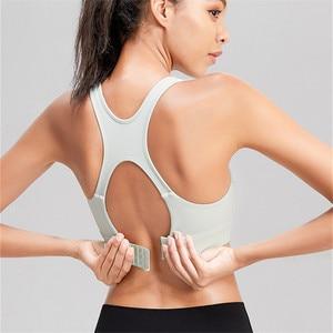 MyZyQg U Style Sports Bra Women Hollow Beauty Back Yoga Bras Shockproof Running Underwear Vest Gym Fitness Workout Top