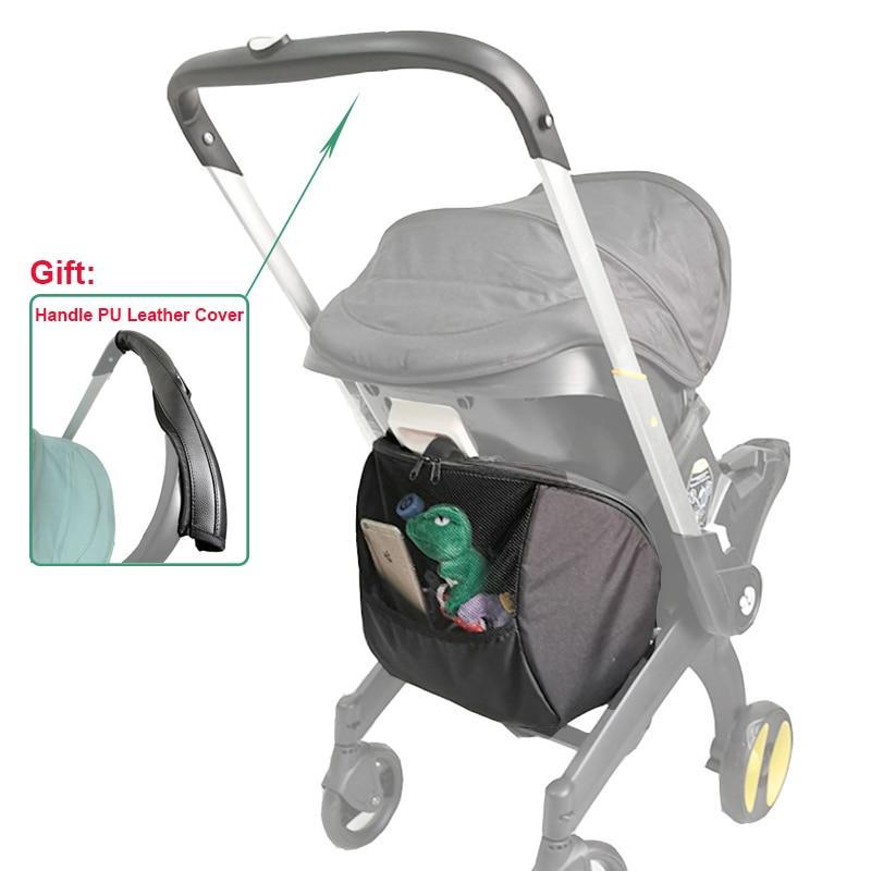 Foofoo Car Seat Storage Bag Baby Stroller Accessories Shopping Bag for Doona Stroller Travel Bag