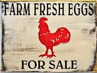 outdoor home decor online country farm chicken hens metal retro home coffee wall decor tin sign 12x16 inch
