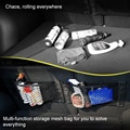Car Back Rear Mesh Trunk Seat Elastic String Net Magic Sticker Universal Storage Bag Pocket Cage Auto Organizer Seat Back Bag
