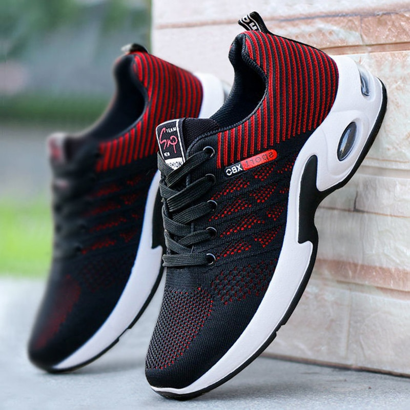 Кроссовки мужские удобные спортивные для бега на открытом воздухе Мужская сетчатая дышащая модная повседневная обувь для тренировок бега ...