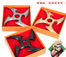 Dessin animé Naruto Cosplay Shuriken Ninja étoiles Ninja fléchettes armes accessoires arme Action Figure Cosplay jouets