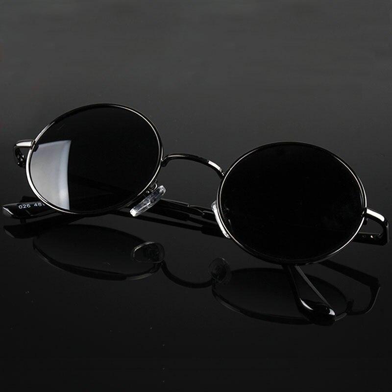 MYT_0256 Retro Round Polarized Sunglasses Men Women Brand Designer Male Female Sun Glasses Metal Frame Eyewear Driving UV400
