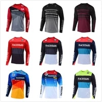 racestars motorcycle jersey maillot ciclismo mtb jersey dh mx bicycle cycling jersey bike downhill fit steamline fast dry smooth