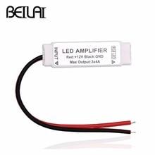 Répéteur portatif Ultra mince de la manche 4pin 5pin RGBW RGBWW damplificateur de LED de cc 12V Mini rvb pour la bande de LED de SMD 5050 3528 2835 rvb