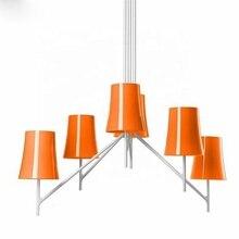 Led acrylique moderne suspension lustre suspension lampe lustre pendente