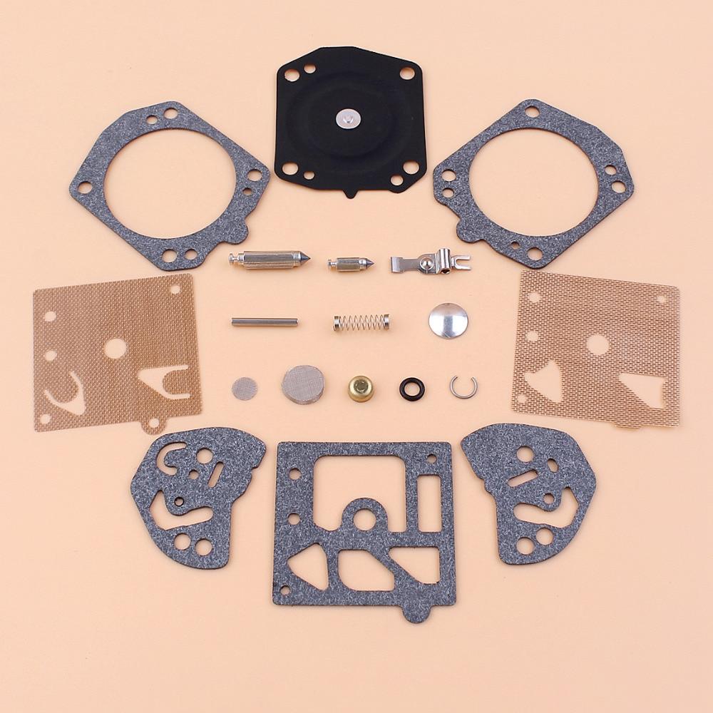 19pcs/Kit Walbro K10-HD Carburetor Diaphragm Gasket Repair Rebuid Kit Fit STIHL MS361 MS460 MS440 MS290 MS310 MS390 Chainsaw