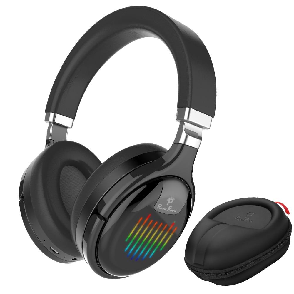 أدى ضوء اللاسلكية سماعات بلوتوث سماعة طوي تخفيض الضوضاء باس ستيريو الألعاب السلكية سماعات مع Mic FM MP3