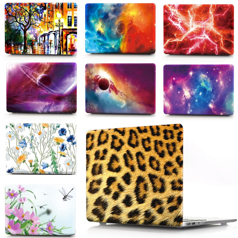 Leopard Prints Laptop Replace Cover For Macbook Pro Air Retina 11 12 13 15 Mac Book Model A1370 A1465 A1466 Fashion Women Case